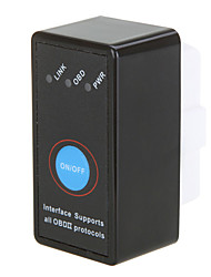 super mini elm327 obd2 / obdii can-bus bluetooth strumento di esplorazione auto diagnostico
