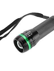 LED Flashlights/Torch Mode 350 Lumens Adjustable Focus / Waterproof / Rechargeable Luminus SST-50 18650 / AAACamping/Hiking/Caving /