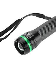 SmallSun Lampes Torches LED 350 Lumens Mode Luminus SST-50 18650 AAA Faisceau Ajustable Etanche RechargeableCamping/Randonnée/Spéléologie