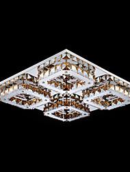 umei ™ привело кристалл для установки заподлицо, 4 свет, современный янтарным гальванического из нержавеющей стали