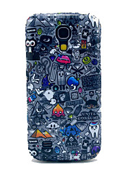 Multiple Elements TPU IMD Soft Case for Samsung Galaxy S4 mini I9190 I9195