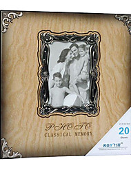 Digna Rectangle Foto Estilo Frame Photo Album (20 Pocket 40 lados)