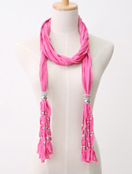 Wholesale Fashion Pendant Scarfs With Jewellery