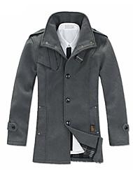 venta nylon abrigo caliente de los hombres