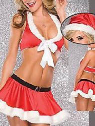 Sexy Girl Red traje com capuz Capa de Natal
