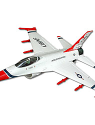 50mm FED Mini F-16 Thunderbrid EPO con Gyro JUEGO