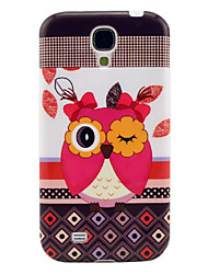 Cute Owl Muster weichen TPU IMD-Hülle für Samsung Galaxy I9500 S4