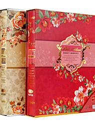 """Estilo de la Navidad Papel floral elegante 6 """"* 8"""" Álbum de fotos (200 Pocket)"""