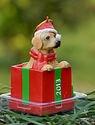 Cute Golden Retriever Decorative Ornament Christmas Gift for Pet Lovers