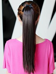 Xuanxuan droite Prêle fibre synthétique perruque de cheveux (Longueur: 65cm)