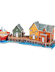 3D Mini Wharf Puzzles