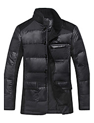 Men's Coats & Jackets , Feather/Polyester Casual/Work PPZ
