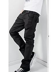 VSKA Men's Casual Pocket Long Pant