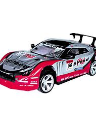 1/14 Scale 4WD RC da tração do carro com luz e tampa de PVC (cores sortidas)