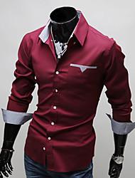 Men's Tops & Blouses , Cotton/Polyester Casual/Work VSKA