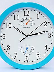 "10 ""Fashion Mute Alarm Weather Clock"