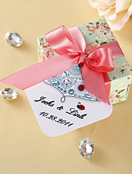 Personalized Favor Tags - Ladybug (set of 36)