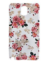 Rose Malerei-Muster Hartplastik zurück Fall Deckung für Samsung Galaxy Note 3