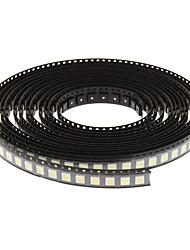 0.2W 5050SMD 12-15LM 6000-6500K White Light LED Lamps for LED Light String Par Light (3-3.2V,500pcs)