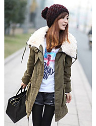 Женские пальто Parka руно