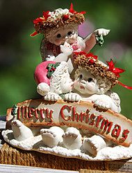 """5""""Creative Christmas And Birthday Gift Cute Angels Decoration Polyresin Collectibles"""
