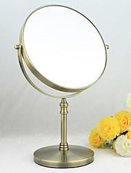 """13 """"H style antique en bronze en métal de couleur table Mirror"""