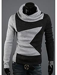 Männer Stehkragen gedruckt stricken sweatershirt