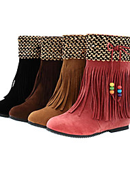 Women's Winter Tassel Boots