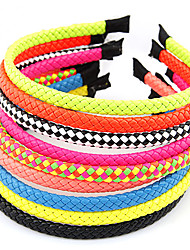 Sweet Style Weave Headbands(Random Color)