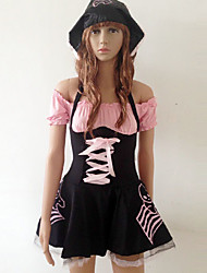 Pretty Black Rose Et Spandex Pirate Costumes (3 Pieces)