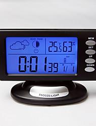 """6.5 """"Mute Alarm Clock Météo Creative"""