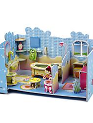Small House Puzzles da menina de classe alta