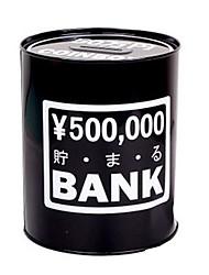 Métal Creative moderne Black Box argent