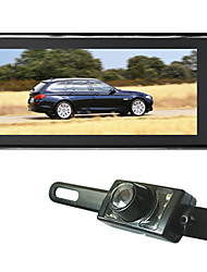 Car Rear View Mirror With  8.8 Inch High Quality TFT-LCD Monitor With Parking System Camera