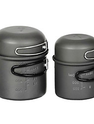 Outdoor Campin Picnic Aluminum Alloy Pot Set With Bowl