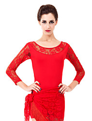 Moda Dancewear Viscose Dança Top For Ladies (mais cores)