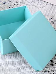 Azul do casamento favores Boxes - conjunto de 12