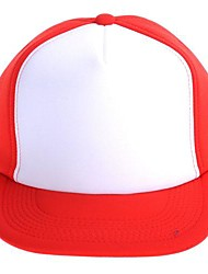 Adjustable Simple Hip-hop Truck Cap (white+Red)