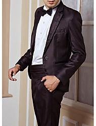 Men's Patent Business Suit/ Wedding Esmoquin