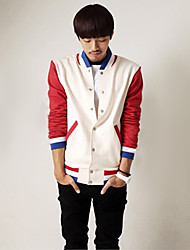 Men'S Luxury Stand Collar Casual Baseball Jacket