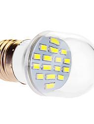 7W E26/E27 LED Kugelbirnen 16 SMD 5630 610 lm Kühles Weiß AC 220-240 V