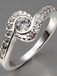 MISS U Damen Silber Zirkon Ring