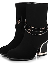 LTBL Women's Modern Pull On Black Ankle Boots