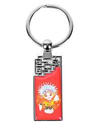 Personalized Rectangle Asian Style Keychain - Peking Opera