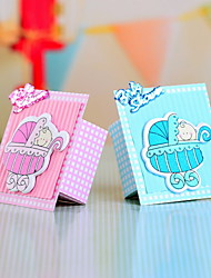 Polyfoam Decorated Favor Box for Baby Shower - Set of 12 (More Colors)