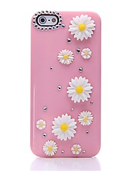 WWX Women's Pink Sunshine Flower Cell phone Case For Iphone5/5S WWX0037