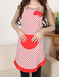 Cute Red Dots Pattern Apron
