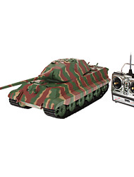 Heng Long 1:16 Control Remoto alemán King Tiger Heavy Tank