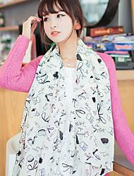 Alin-kiss Fashion Chiffon Scarf(SJ047)