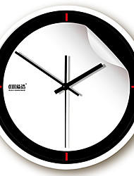 "12 ""h Type moderne mur métallique simple horloge"